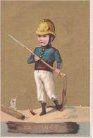 Vers 1900 LA LANCE / LE POMPIER - Sapeurs-Pompiers