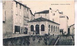 34 SAINT PONS   HALLE  AUX HERBES   TBE HE444 - Saint-Pons-de-Mauchiens