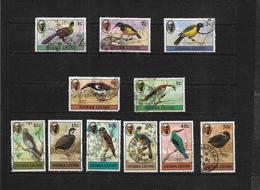 Sierra Leone, 1980 Birds (no Imprint Date) Complete Used To 50c (7423) - Sierra Leone (1961-...)