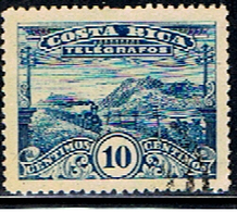 COST 93 // Y&T 10 (TELEGRAPH) // 1907 - Costa Rica