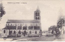 Précy Sur Oise (60) - L'Eglise - Cachet Service Topographique - Précy-sur-Oise