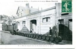 N°69802 -cpa Le Havre -mise En Magasin D'un Lot De Rhum Chauvel- - Andere