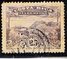 COST 94 // Y&T 25 (TELEGRAPH) // 1907 - Costa Rica