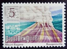 Papouasie Nouvelle Guinée Papua New Guinea 1973 Montagne Mountain Volcan Volcano Yvert 243 ** MNH - Papoea-Nieuw-Guinea