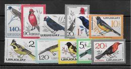 Uruguay Poste Aérienne N°234/243 - Oiseaux - Neuf ** Sans Charnière - TB - Uruguay