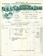 92.BOULOGNE BILLANCOURT.MANUFACTURE  DE CIRAGES,CREMES & PRODUITS ENTRETIEN.BISSEUIL & HUET. - Chemist's (drugstore) & Perfumery