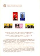 *Bollettino Illustrativo Repubblica 1959 N° 059 Giochi Olimpici Di Roma. - 6. 1946-.. Repubblica