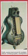Vielle. Ancien Instrument De Musique. Musée De Saint-Pétersbourg.  Russie. Encyclopédie De 1970. - Autres