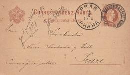 Autriche Entier Postal 1883 - Entiers Postaux