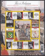 BELGIQUE 2009 Nº 3951/60 EN BLOQUE USADO 1º DIA - Bloques 1962-....