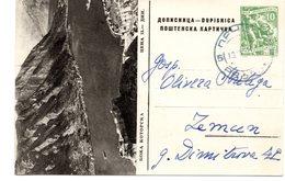 1958 Boka Kotorska Crna Gora Jugoslavia  Montenegro Yugoslavia Used Postcard Ilustrovana Koriscena Dopisnica - Montenegro