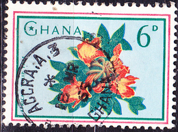 Ghana - Afrikanischer Tulpenbaum (Spathodea Campanulata) (Mi.Nr.: 203) 1964 - Gest Used Obl. - Ghana (1957-...)