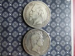 LOT 2 ECUS FRANCE - J. 5 Francs