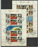 Guinée Cosmos  YT BF 8/9* Oblitérés  GEMINI YOUNG GRISSONN - Ruimtevaart