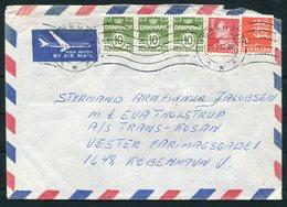 1972 Faroe Islands Airmail Cover Thorshavn - Copenhagen Denmark - Faroe Islands