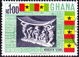 Ghana - Staatsstuhl (Mi.Nr.: 317) 1967 - Gest Used Obl. - Ghana (1957-...)