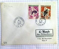 T.A.A.F.  .Archipel  ILES CROZET  Du 3.01.1972 - Briefe U. Dokumente