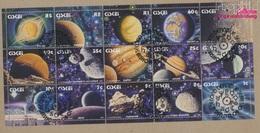Südafrika - Ciskei 192-206 Kleinbogen (kompl.Ausg.) Gestempelt 1991 Das Sonnensystem (9283025 - Ciskei
