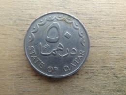 Qatar  50  Dirhams  1987  Km 5 - Qatar