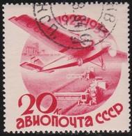 Russia        .   Yvert     .    Air  43       .       O     .     Gebruikt   .    /     .    Cancelled - 1923-1991 USSR