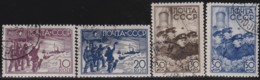 Russia        .   Yvert     .   4 Stamps     .       O     .     Gebruikt   .    /     .    Cancelled - 1923-1991 USSR