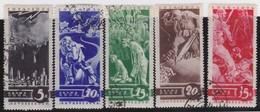 Russia        .   Yvert     .    536/540     .       O     .     Gebruikt   .    /     .    Cancelled - 1923-1991 USSR