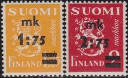 Finland     .   Yvert    .    223/224        .   **     .    Postfris     .   /    .   Neuf SANS Charniere - Finlande
