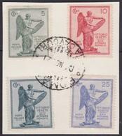 Italie  .   Yvert   .   113/116     .   O    .    Gebruikt     .   / .    Oblitéréitalie - 1900-44 Vittorio Emanuele III