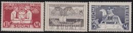Finland  .   Yvert   .   183/185   .   *   .   Ongebruikt Met Plakker    .   / .   Neuf Avec Charniere - Finlande
