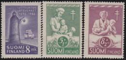 Finland  .   Yvert   .   311/313    .   *   .   Ongebruikt Met Plakker    .   / .   Neuf Avec Charniere - Finlande