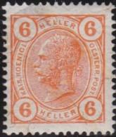 Oostenrijk   .   Yvert   .   85   .   *   .   Ongebruikt Met Plakker    .   / .   Neuf Avec Charniere - 1850-1918 Empire