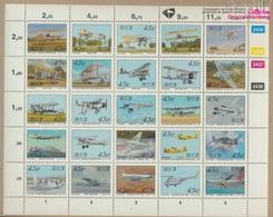 Südafrika 865-889 Zd-Bogen (kompl.Ausg.) Postfrisch 1993 Luftfahrt (9283028 - Südafrika (1961-...)
