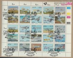 Südafrika 865-889 Zd-Bogen (kompl.Ausg.) Gestempelt 1993 Luftfahrt (9283030 - Südafrika (1961-...)