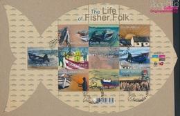 Südafrika 1901-1910 Kleinbogen (kompl.Ausg.) Gestempelt 2010 Das Leben Der Fischer (9283040 - Südafrika (1961-...)