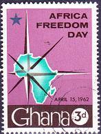 Ghana - Tag Der Afrikanischen Freiheit (Mi.Nr.: 118) 1962 - Gest Used Obl. - Ghana (1957-...)