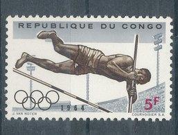 J.O. De Tokyo - République Du Congo (1960-64)
