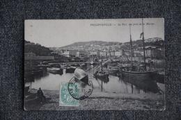 PHILIPPEVILLE - Le Port, Vue Prise De La Marine - Skikda (Philippeville)