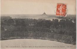 DAV : Manche : AVRANCHES :   Vue  Sur La  Baie  Du  Mont  Saint  Michel - Avranches