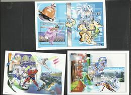 Guinée Jeux Olympiques YT** BF 208/10 Sake Lake City  2002  Hockey Patinage - Winter 2002: Salt Lake City