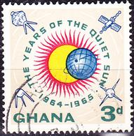 Ghana - Jahr Der Ruhigen Sonne (Mi.Nr.: 170) 1964 - Gest Used Obl. - Ghana (1957-...)