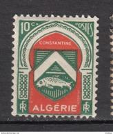 ##28, Algérie, Algeria, Armoiries, Coat Of Arms, Poisson, Fish - Algérie (1924-1962)