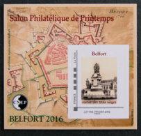 FRANCE - 2016 - BLOC CNEP N° 71** - Salon Philatélique De Printemps - BELFORT - CNEP