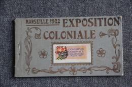 MARSEILLE - Carnet Complet De L'Exposition Coloniale De 1922 .Toutes Les Cpa Pas Photographiées.... - Expositions Coloniales 1906 - 1922
