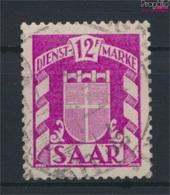 Saarland D39 Gestempelt 1949 Wappen (9284593 - 1947-56 Allierte Besetzung