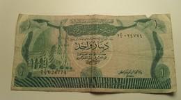 1980/81 - Libye - Libya - ONE DINAR, Série 2,  24774 - Libye