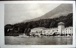 CADENABBIA Lago Di Como Grand Hotel Belle Vue Dampfschiff - Como
