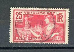 FRANCE :   N°Yvert 184 J.O. DE PARIS 1924 OBLITÉRÉ CàD DU JURA - Francia
