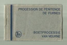 ** VEURNE    . **  BOETPROCESSIE  VAN  VEURNE /PROCESSION DE PENITENCE  DE  FURNES       .** - - Veurne