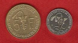 """Afrique De L""""Ouest 1976,1972 - 1, 5 Francs - KM 8, 2a - Monnaies"""