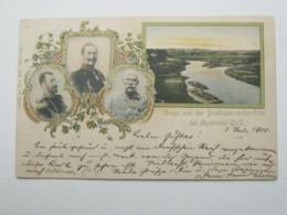 MYSLOWITZ   , Schöne Karte 1910, Prägekarte - Schlesien